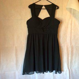 ModCloth Black Formal Dress Size XL